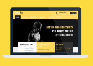 new bodyfix gym website