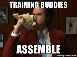 training buddies assemble